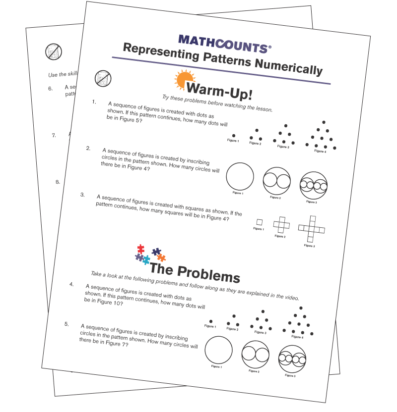 Mathcounts problem of the week
